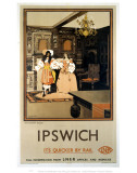 Ipswich the Ancient House LNER Posters