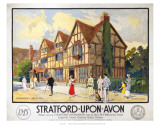 Stratford Upon Avon LMS Posters
