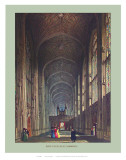 Inside King&#39;s College Print