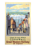 Old World Cornwall Posters