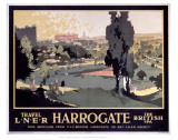 Travel LNER, Harrogate Prints