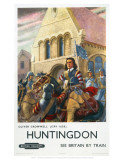 Oliver Cromwell Huntingdon Prints
