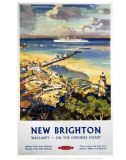 New Brighton, Wallasey Cheshire Coast Prints