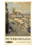 Peterborough View of Market Art