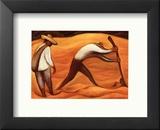 Peasants Prints by Diego Rivera