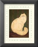 White Persian Cat Posters by Warren Kimble