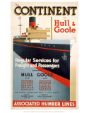 Continent, Hull, Goole Prints