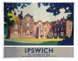 Ipswich Christchurch Mansion Prints