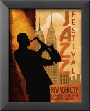 Jazz in New York, 1962 Poster di Conrad Knutsen