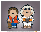 Weenicons: Great Scott Pósters