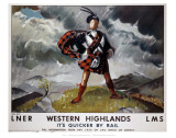 Western Highlands Posters