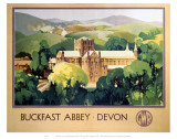 Buckfast Abbey Devon Posters