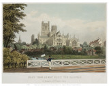 East View of Ely from the Railway Posters