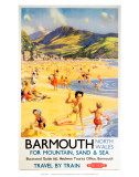 Barmouth North Wales for Mountain, Sand and Sea Prints