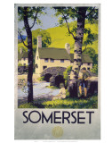 Somerset Boy and Girl by Bridge Art