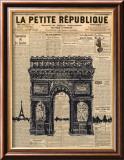 Paris Journal II Kunstdrucke von Maria Mendez