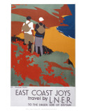 East Coast Joys Poster