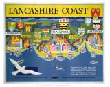 Lancashire Coast Posters