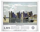 Caernarvon Castle Posters
