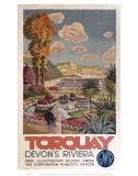 Torquay Devon's Riviera Prints