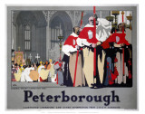 Peterborough Cathedral Procession Print