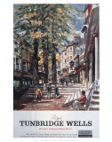 Royal Tunbridge Wells Street Poster