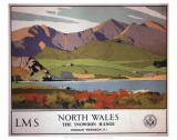 North Wales, the Snowdon Range Prints