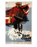 East Coast Types Posters