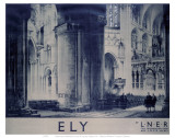 Inside Ely Cathedral Affiches