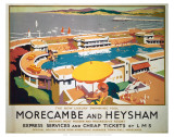 Morecambe and Heysham Poster