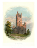 Ely Cathedral, West Tower Poster by Arthur Wilde Parsons