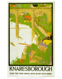 Knaresborough Guide Prints