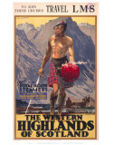 The Western Highlands of Scotland Posters