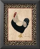 Whiteback Chicken Affiche par Warren Kimble