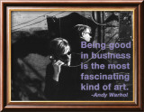 Good in Business Posters van Billy Name