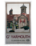Great Yarmouth Fishermen's Almshouses Print