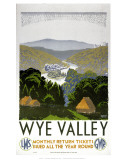 Wye Valley Poster