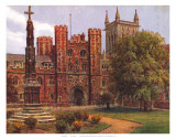 St John&#39;s Cambridge Posters