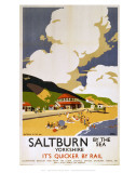 Saltburn Yorkshire Poster