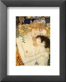 Madre e hija (detalle de Las tres edades de la mujer), ca.1905 Láminas por Gustav Klimt
