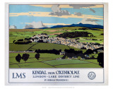 Kendal from Oxenholme Prints