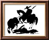 Bullfight I Plakater av Pablo Picasso