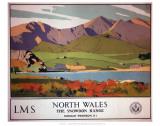 North Wales the Snowdon Range Sztuka