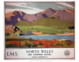 North Wales the Snowdon Range Art