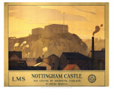 Nottingham Castle Print