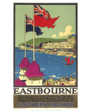 Eastbourne, Southern Railways Affiches