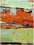 Horizon Blaze II Prints by Janice Sugg