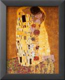 Kysset, ca. 1907 Poster av Gustav Klimt