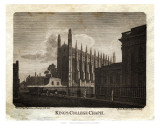 King&#39;s College Chapel Print