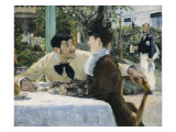 At Père Lathuille Giclee Print by Édouard Manet